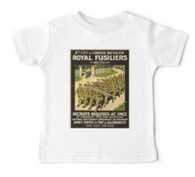 Vintage poster - British Military Baby Tee
