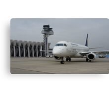 Tower & Embraer Canvas Print