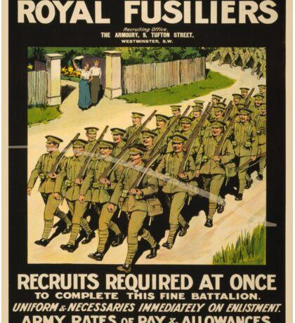 Vintage poster - British Military Sticker