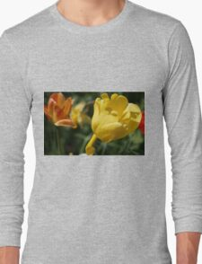 Yellow Tulip with Friends Long Sleeve T-Shirt