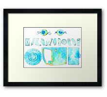 Private Collection Framed Print
