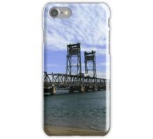 Clyde River Bridge, Batemans Bay. iPhone Case/Skin