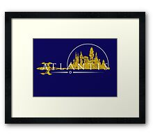 Atlantis (The Cities of Comics) Framed Print