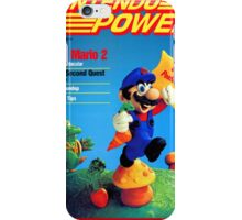 Nintendo Power - July/August 1988 iPhone Case/Skin