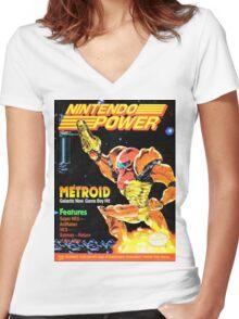 Nintendo Power - Volume 31 Women's Fitted V-Neck T-Shirt