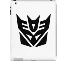 Decept (Simple Black Theme) iPad Case/Skin