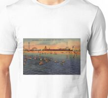 Vintage Pontchartrain Beach Artwork  Unisex T-Shirt