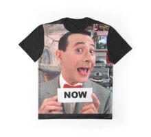 Pee Wee Herman - NOW Graphic T-Shirt