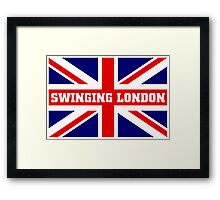 SWINGING LONDON Framed Print