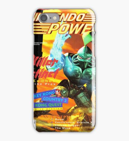 Nintendo Power - Volume 76 iPhone Case/Skin