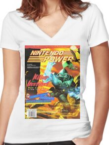 Nintendo Power - Volume 76 Women's Fitted V-Neck T-Shirt