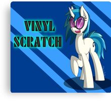[MLP] Vinyl Scratch Canvas Print