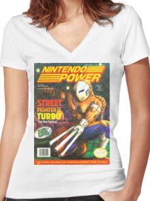 Nintendo Power - Volume 51 Women's Fitted V-Neck T-Shirt