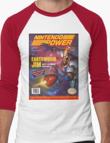 Nintendo Power - Volume 67 Men's Baseball ¾ T-Shirt