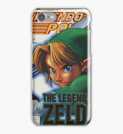 Nintendo Power - Volume 114 iPhone Case/Skin