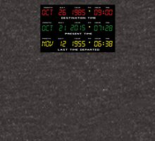 BTTF - Back To The Future - Time Travel Display Dashboard T-Shirt