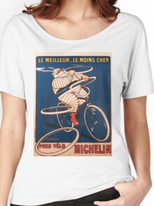 Vintage poster - Michelin Women's Relaxed Fit T-Shirt