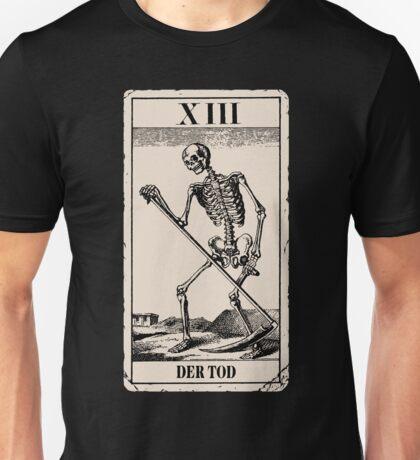 Der Tod / Death Tarot Card Unisex T-Shirt