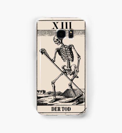 Der Tod / Death Tarot Card Samsung Galaxy Case/Skin