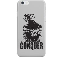 CONQUER (Ripped Back) iPhone Case/Skin