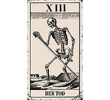 Der Tod / Death Tarot Card Photographic Print