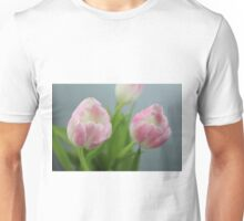Pretty Pink Tulips Unisex T-Shirt