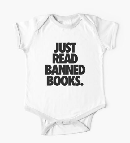 JUST READ BANNED BOOKS. One Piece - Short Sleeve
