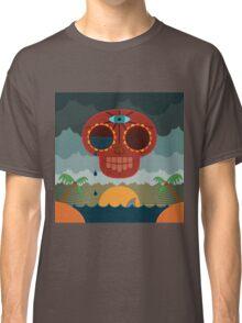Sugar Skull Storm God Classic T-Shirt