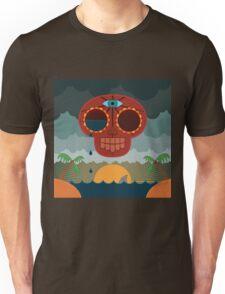 Sugar Skull Storm God Unisex T-Shirt
