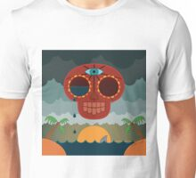 Sugar Skull Storm God Unisex T-Shirt