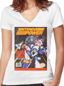Nintendo Power - Volume 56 Women's Fitted V-Neck T-Shirt