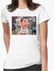 Pee Wee Herman - DANCE Womens Fitted T-Shirt