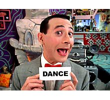 Pee Wee Herman - DANCE Photographic Print