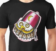 OWL IN A FEZ Unisex T-Shirt