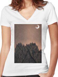 1.40 Women's Fitted V-Neck T-Shirt