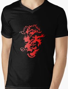 Subjection Expression Mens V-Neck T-Shirt