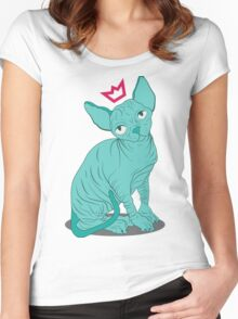 Hairless Royal Cat Women's Fitted Scoop T-Shirt