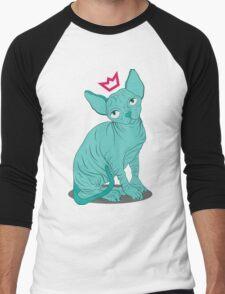 Hairless Royal Cat Men's Baseball ¾ T-Shirt