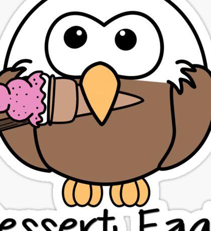 Dessert Eagle Sticker