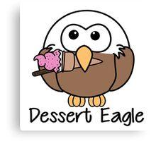 Dessert Eagle Canvas Print