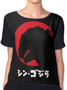 Godzilla Resurgence Chiffon Top