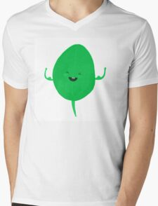 Strong as spinach Mens V-Neck T-Shirt