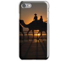 Red Sun Camels iPhone Case/Skin