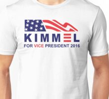vote jimmy kimmel for vice president Unisex T-Shirt