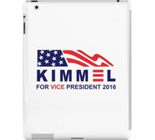 vote jimmy kimmel for vice president iPad Case/Skin