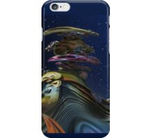 Abstract mountains iPhone Case/Skin