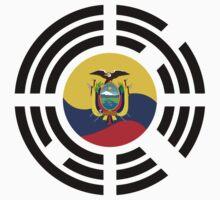 Korean Ecuadorian Multinational Patriot Flag Series Baby Tee