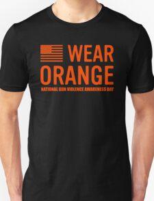 wear orange Unisex T-Shirt