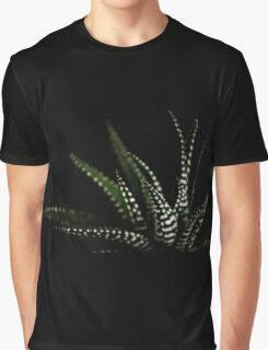 Haworthia Aloe Vera cactus succulent plant white spots Graphic T-Shirt