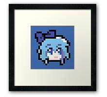 Pixel Cirno Framed Print